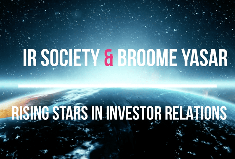 Broome Yasar & IR Society –  Future Leaders in IR Report and Survey