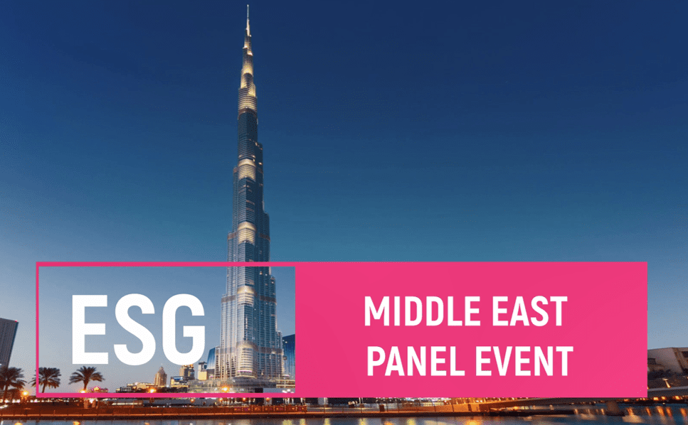 ESG – The direction of travel in the Middle East – in collaboration with the Middle East Investor Relations Society